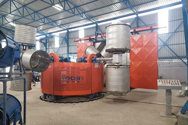 Bi Axial Rotomoulding Machine4 Arm Biaxial Machine-1000 LTR, 2020, Somalia