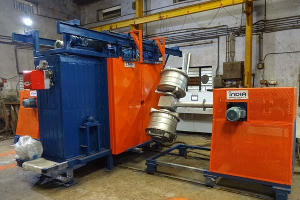 Shuttle Rotomolding MachineShuttle Rotomolding Machine Exporter in  Canada