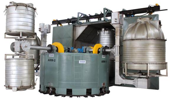 Rotational Moulding Machine Export in IndiaRotomoulding-Machine